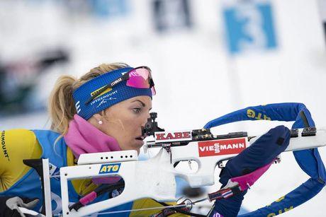 10.01.2019, Oberhof, Germany (GER):Ingela Andersson (SWE) -  IBU world cup biathlon, sprint women, Oberhof (GER). www.nordicfocus.com. © Manzoni/NordicFocus. Every downloaded picture is fee-liable.