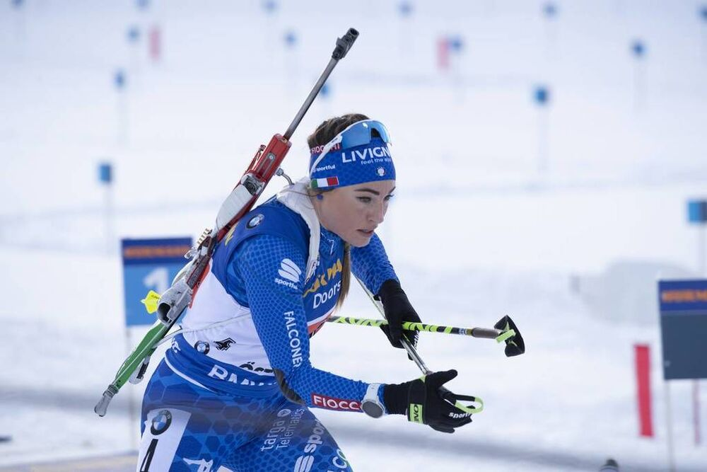 14.03.2019, Oestersund, Sweden (SWE):Dorothea Wierer (ITA) - IBU world championships biathlon, single mixed relay, Oestersund (SWE). www.nordicfocus.com. © Manzoni/NordicFocus. Every downloaded picture is fee-liable.