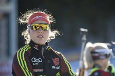 21.03.2019, Oslo, Norway (NOR):Laura Dahlmeier (GER) - IBU world cup biathlon, sprint women, Oslo (NOR). www.nordicfocus.com. © Manzoni/NordicFocus. Every downloaded picture is fee-liable.