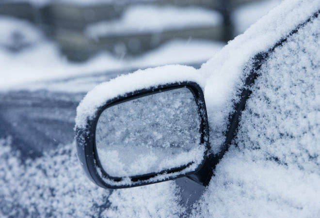 Vinter bilspeil
