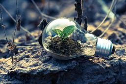 Innovasjon miljø illustrasjon
