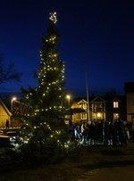 Julegateåpning i Hølen