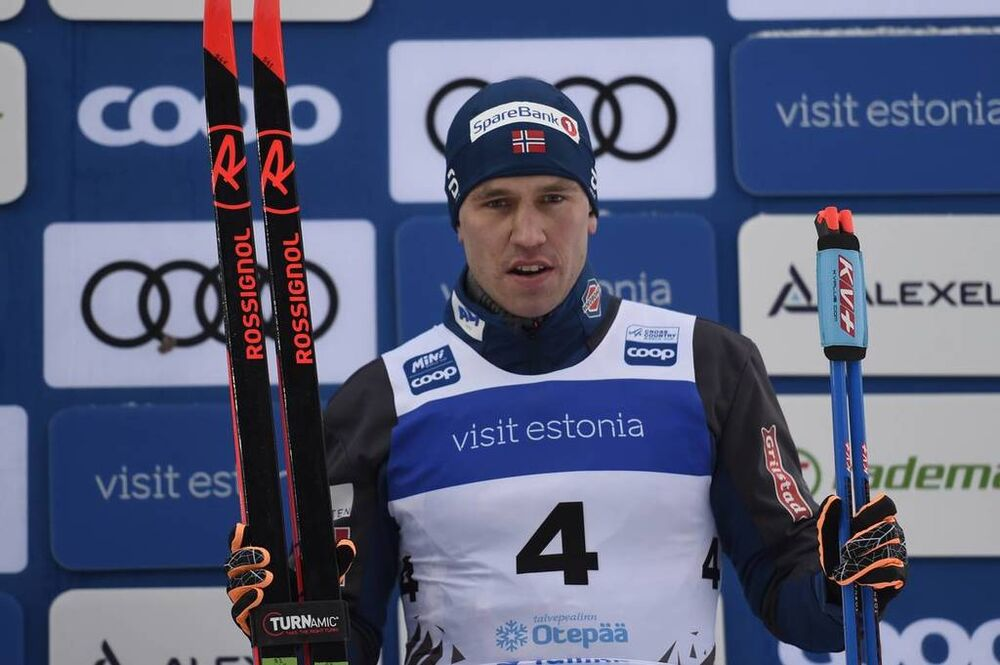 19.01.2019, Otepaeae, Estonia (EST):Paal Golberg (NOR) - FIS world cup cross-country, individual sprint, Otepaeae (EST). www.nordicfocus.com. © Thibaut/NordicFocus. Every downloaded picture is fee-liable.