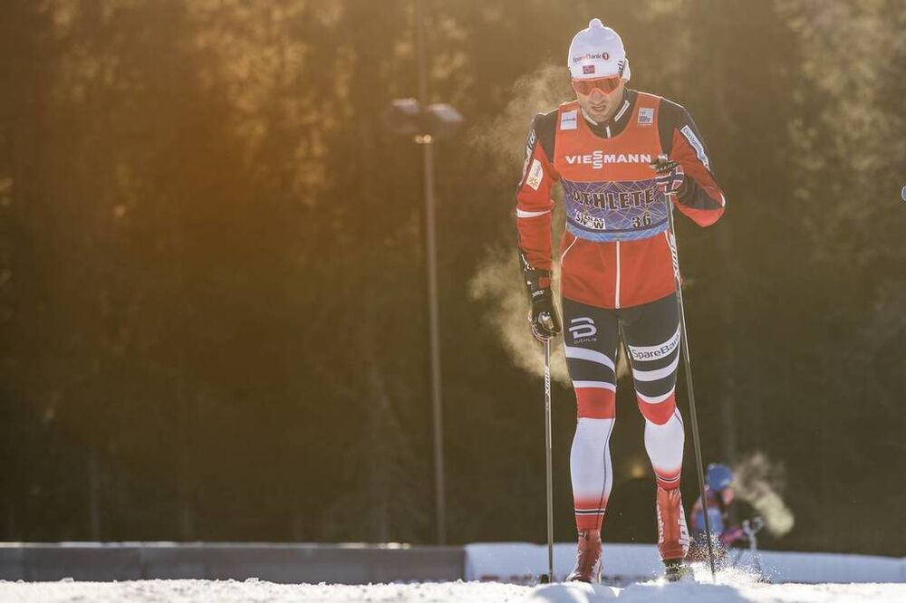 01.12.2017, Lillehammer, Norway (NOR):Petter Northug (NOR) - FIS world cup cross-country, training, Lillehammer (NOR). www.nordicfocus.com. © Modica/NordicFocus. Every downloaded picture is fee-liable.