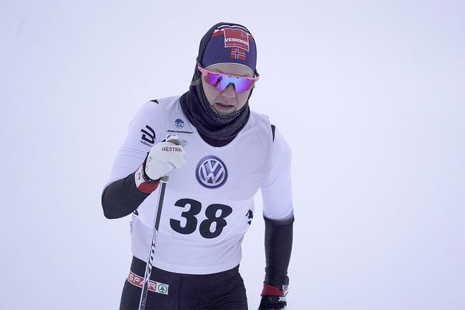 OKÄNDA Ane Appelkvist Stenseth slog världsmästaren Maiken Caspersen Falla och vann den norska sprintpremiären. Foto/rights: TOM-WILLIAM LINDSTRÖM/kekstock.com