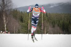 02.12.2018, Lillehammer, Norway (NOR):Johannes Hoesflot Klaebo (NOR) - FIS world cup cross-country, pursuit men, Lillehammer (NOR). www.nordicfocus.com. © Modica/NordicFocus. Every downloaded picture is fee-liable.