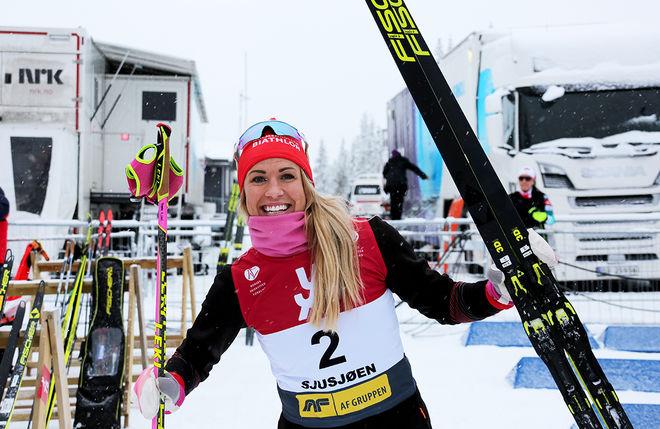 INGELA ANDERSSON vann i IBU-cupen i Martell bara några mil från VM-arenan i Antholz där dom svenska stafettåkarna (minus Hanna Öberg) inte fick till det. Foto/rights: KJELL-ERIK KRISTIANSEN/kekstock.com