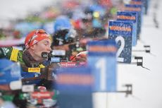 17.03.2019, Oestersund, Sweden (SWE):Benedikt Doll (GER) - IBU world championships biathlon, mass men, Oestersund (SWE). www.nordicfocus.com. © Tumashov/NordicFocus. Every downloaded picture is fee-liable.