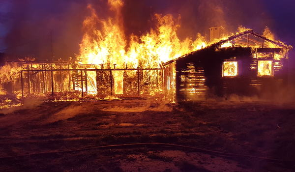 Brann i bygning