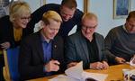 Ordførerne signerte kontrakten