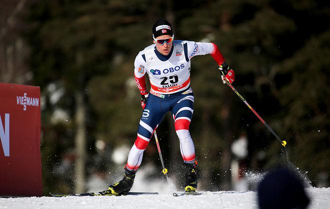 DIDRIK TÖNSETH är uttagen till EM i terränglöpning, men landslagsledningen vill att han kör världscupen på skidor i Lillehammer istället. Foto/rights: MARCELA HAVLOVA/kekstock.com