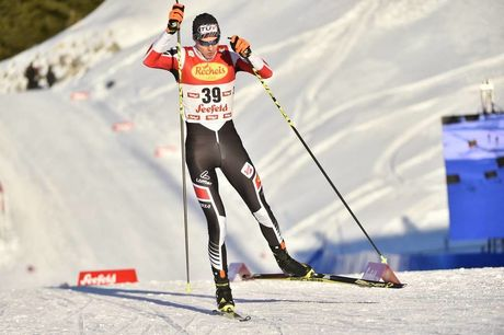 27.01.2017, Seefeld, Austria (AUT):Harald Lemmerer (AUT) - FIS world cup nordic combined, individual gundersen HS109/5km, Seefeld (AUT). www.nordicfocus.com. © Thibaut/NordicFocus. Every downloaded picture is fee-liable.