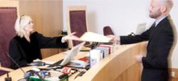 Illustrasjonsbilde innsyn i domsavgjørelser. Foto: domstol.no