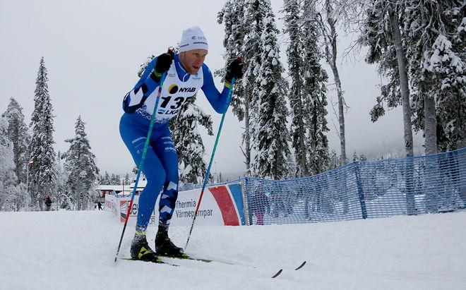 DANIEL RICHARDSSON åkte bra i Gällivare (bilden) men han var chanslös i norska cupen under fredagen. Foto/rights: PETTER ENGDAHL/kekstock.com
