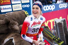 30.11.2019, Ruka, Finland (FIN):Therese Johaug (NOR) - FIS world cup cross-country, 10km women, Ruka (FIN). www.nordicfocus.com. © Modica/NordicFocus. Every downloaded picture is fee-liable.