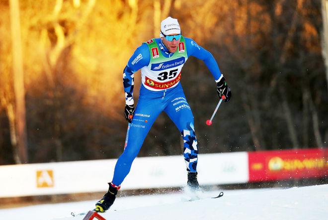DANIEL RICHARDSSON fick märka den enorma nivån i Norge. SM-segraren på femmilen från 2018 blev 20:e man på 15 km fristil i Gålå. Foto/rights: KJELL-ERIK KRISTIANSEN/kekstock.com