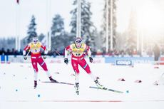01.12.2019, Ruka, Finland (FIN):Heidi Weng (NOR) - FIS world cup cross-country, pursuit women, Ruka (FIN). www.nordicfocus.com. © Modica/NordicFocus. Every downloaded picture is fee-liable.