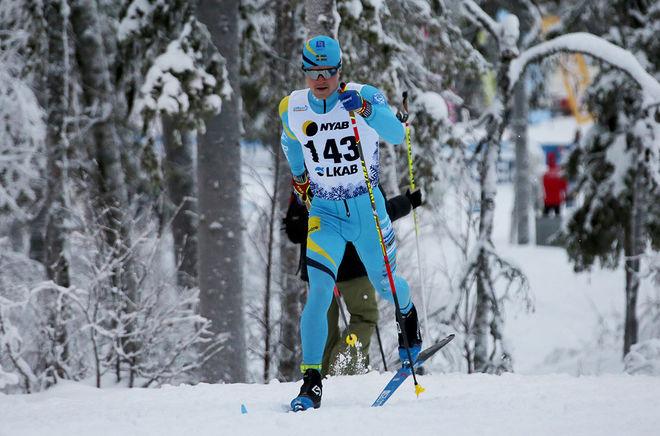 FILIP DANIELSSON, SK Bore åkte bra i Gällivare och får nu chansen i världscupen i Lillehammer kommande helg. Foto/rights:  PETTER ENGDAHL/kekstock.com