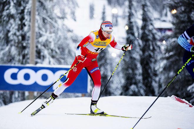 DUBBLA OS-SEGRARINNAN Ragnhild Haga är bara en skugga av den åkare hon var för två säsonger sedan. Foto: NORDIC FOCUS