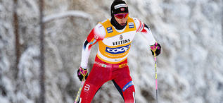 01.12.2019, Ruka, Finland (FIN):Johannes Hoesflot Klaebo (NOR) - FIS world cup cross-country, pursuit men, Ruka (FIN). www.nordicfocus.com. © Modica/NordicFocus. Every downloaded picture is fee-liable.