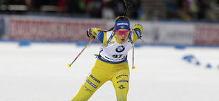 01.12.2019, Oestersund, Sweden, (SWE):Elvira Oeberg (SWE) - IBU world cup biathlon, sprint women, Oestersund (SWE). www.nordicfocus.com. © Manzoni/NordicFocus. Every downloaded picture is fee-liable.