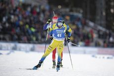 01.12.2019, Oestersund, Sweden, (SWE):Sebastian Samuelsson (SWE) - IBU world cup biathlon, sprint men, Oestersund (SWE). www.nordicfocus.com. © Manzoni/NordicFocus. Every downloaded picture is fee-liable.