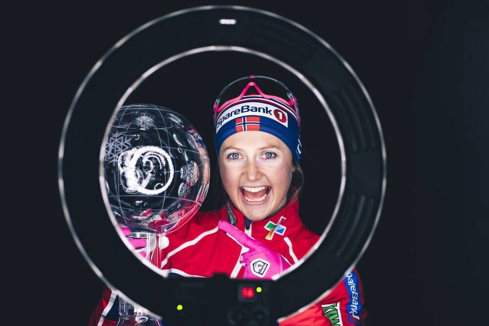 22.03.2019, Quebec, Canada (CAN):Ingvild Flugstad Oestberg (NOR) - FIS world cup cross-country, cups, Quebec (CAN). www.nordicfocus.com. © Modica/NordicFocus. Every downloaded picture is fee-liable.
