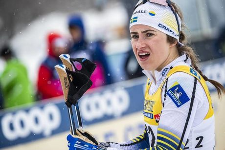 22.03.2019, Quebec, Canada (CAN):Ebba Andersson (SWE) - FIS world cup cross-country, individual sprint, Quebec (CAN). www.nordicfocus.com. © Modica/NordicFocus. Every downloaded picture is fee-liable.