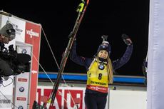 01.12.2019, Oestersund, Sweden, (SWE):Dorothea Wierer (ITA) - IBU world cup biathlon, sprint women, Oestersund (SWE). www.nordicfocus.com. © Nico Manzoni/NordicFocus. Every downloaded picture is fee-liable.