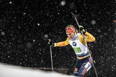 30.11.2019, Oestersund, Sweden, (SWE):Denise Herrmann (GER) - IBU world cup biathlon, relay mixed, Oestersund (SWE). www.nordicfocus.com. © Manzoni/NordicFocus. Every downloaded picture is fee-liable.