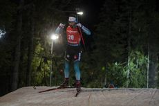 04.12.2019, Oestersund, Sweden, (SWE):Martin Fourcade (FRA) - IBU world cup biathlon, individual men, Oestersund (SWE). www.nordicfocus.com. © Nico Manzoni/NordicFocus. Every downloaded picture is fee-liable.