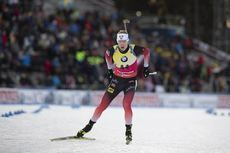 01.12.2019, Oestersund, Sweden, (SWE):Johannes Thingnes Boe (NOR) - IBU world cup biathlon, sprint men, Oestersund (SWE). www.nordicfocus.com. © Manzoni/NordicFocus. Every downloaded picture is fee-liable.