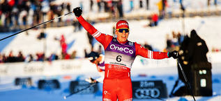 07.12.2019, Lillehammer, Norway (NOR):Alexander Bolshunov (RUS) - FIS world cup cross-country, skiathlon men, Lillehammer (NOR). www.nordicfocus.com. © Modica/NordicFocus. Every downloaded picture is fee-liable.