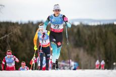 07.12.2019, Lillehammer, Norway (NOR):Delphine Claudel (FRA) - FIS world cup cross-country, skiathlon women, Lillehammer (NOR). www.nordicfocus.com. © Modica/NordicFocus. Every downloaded picture is fee-liable.