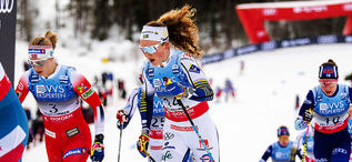 07.12.2019, Lillehammer, Norway (NOR):Moa Lundgren (SWE) - FIS world cup cross-country, skiathlon women, Lillehammer (NOR). www.nordicfocus.com. © Modica/NordicFocus. Every downloaded picture is fee-liable.
