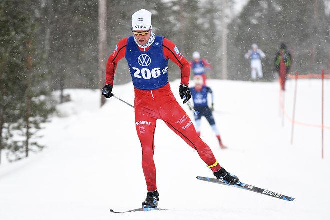 KARL-JOHAN WESTBERG, Borås SK på väg mot seger över 15 km fristil i Volkswagen Cup i Idre. Foto/rights: ROLF ZETTERBERG/kekstock.com