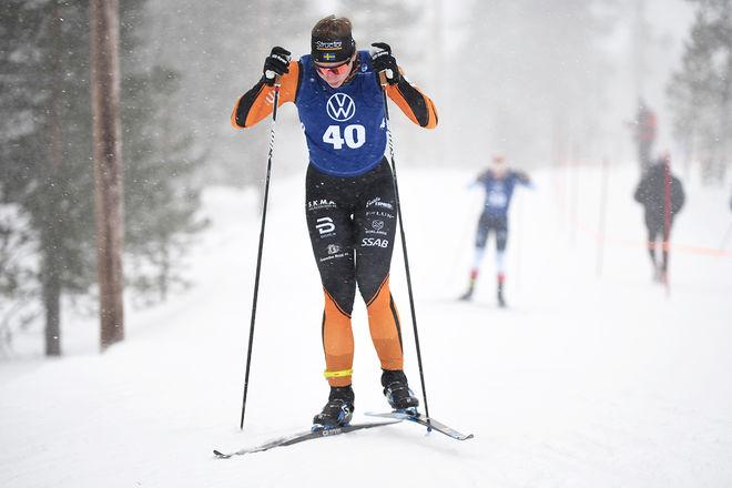 STARKT LOPP av dalatjejen Moa Olsson som vann 10 km fristil. Foto/rights: ROLF ZETTERBERG/kekstock.com