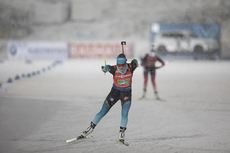 08.12.2019, Oestersund, Sweden, (SWE):Justine Braisaz (FRA) - IBU world cup biathlon, relay women, Oestersund (SWE). www.nordicfocus.com. © Manzoni/NordicFocus. Every downloaded picture is fee-liable.