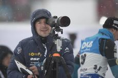 05.01.2017, Oberhof, Germany (GER):Event Feature: Franck Badiou (FRA)  -  IBU world cup biathlon, sprint men, Oberhof (GER). www.nordicfocus.com. © Manzoni/NordicFocus. Every downloaded picture is fee-liable.