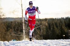 07.12.2019, Lillehammer, Norway (NOR):Mattis Stenshagen (NOR) - FIS world cup cross-country, skiathlon men, Lillehammer (NOR). www.nordicfocus.com. © Modica/NordicFocus. Every downloaded picture is fee-liable.