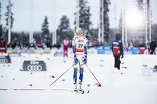 30.11.2019, Ruka, Finland (FIN):Frida Karlsson (SWE) - FIS world cup cross-country, 10km women, Ruka (FIN). www.nordicfocus.com. © Modica/NordicFocus. Every downloaded picture is fee-liable.