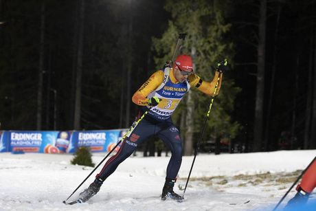 07.12.2019, Oestersund, Sweden, (SWE):Arnd Peiffer (GER) - IBU world cup biathlon, relay men, Oestersund (SWE). www.nordicfocus.com. © Nico Manzoni/NordicFocus. Every downloaded picture is fee-liable.
