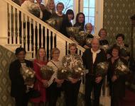 25 og 40 års jubilanter Lunner kommune 2019