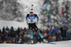 13.12.2019, Hochfilzen, Austria (AUT):Caroline Colombo (FRA) - IBU world cup biathlon, sprint women, Hochfilzen (AUT). www.nordicfocus.com. © Manzoni/NordicFocus. Every downloaded picture is fee-liable.