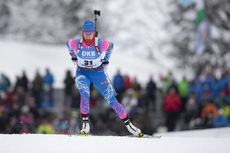 13.12.2019, Hochfilzen, Austria (AUT):Svetlana Mironova (RUS) - IBU world cup biathlon, sprint women, Hochfilzen (AUT). www.nordicfocus.com. © Manzoni/NordicFocus. Every downloaded picture is fee-liable.