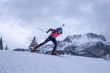 13.12.2019, Hochfilzen, Austria (AUT):Lukas Hofer (ITA) - IBU world cup biathlon, sprint men, Hochfilzen (AUT). www.nordicfocus.com. © Nico Manzoni/NordicFocus. Every downloaded picture is fee-liable.