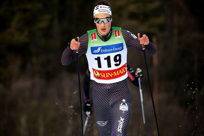 MAX NOVAK kämpade om segern i La Venosta men slutade 5:a i mål. Foto/rights: KJELL-ERIK KRISTIANSEN/kekstock.com