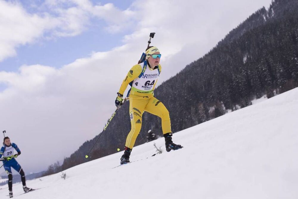 26.01.2018, Ridnaun, Italy (ITA):Johanna Skottheim (SWE) - IBU Open European championships biathlon, sprint women, Ridnaun (ITA). www.nordicfocus.com. © Manzoni/NordicFocus. Every downloaded picture is fee-liable.
