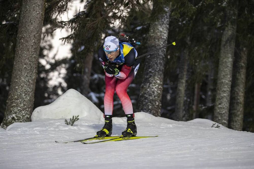 01.12.2019, Oestersund, Sweden, (SWE):Lars Helge Birkeland (NOR) - IBU world cup biathlon, sprint men, Oestersund (SWE). www.nordicfocus.com. © Nico Manzoni/NordicFocus. Every downloaded picture is fee-liable.