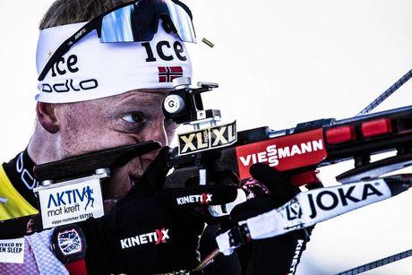 14.12.2019, Hochfilzen, Austria (AUT):Johannes Thingnes Boe (NOR) - IBU world cup biathlon, pursuit men, Hochfilzen (AUT). www.nordicfocus.com. © Manzoni/NordicFocus. Every downloaded picture is fee-liable.